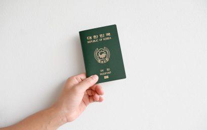 Países a los que viajan los coreanos sin visado