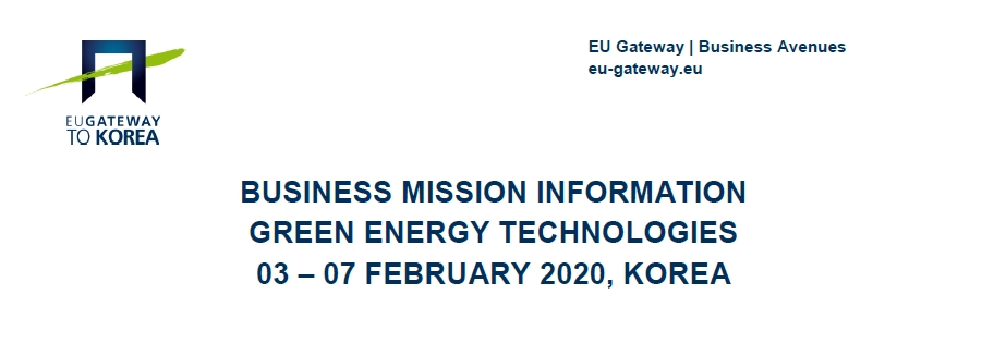 Mision a Corea organizada por la UE Getaway